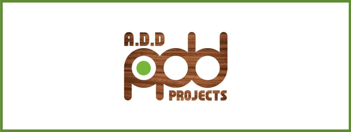addprojectsのロゴマーク(Wood版)